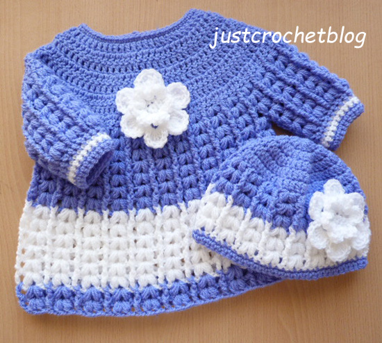 crochet angel dress-hat