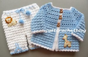 crochet coat-bloomers