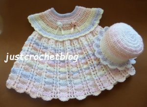 crochet dress-sun hat