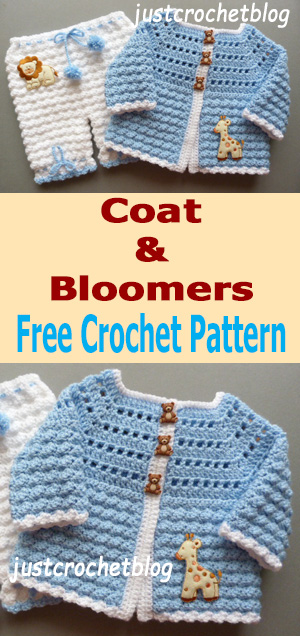 crochet coat-bloomers uk