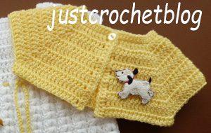 crochet short jacket