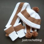 crochet winter set