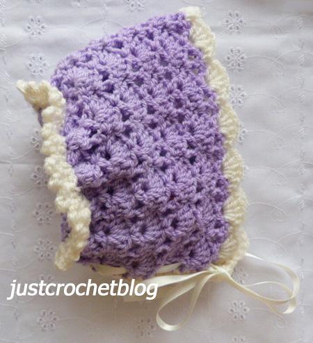 crochet sweet bonnet