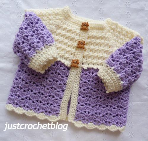 crochet sweet coat