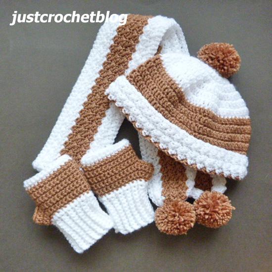 crochet winter set uk