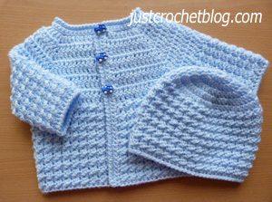 crochet baby glitz set2