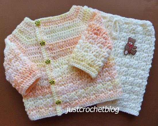 crochet wrapped jacket-pants uk
