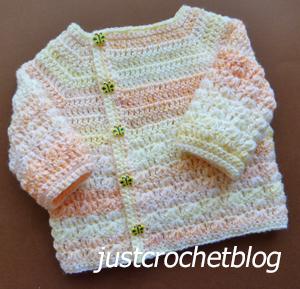 crochet wrapped jacket