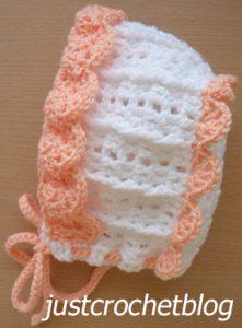 pretty crochet bonnet3