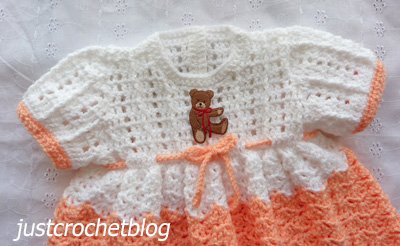 pretty crochet dress