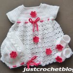 crochet dress set