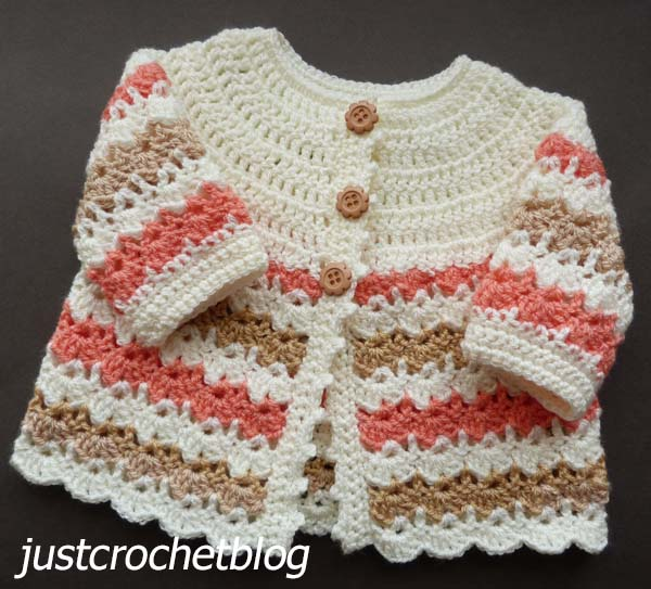 crochet pretty coat