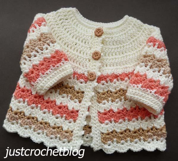 crochet pretty coat