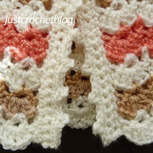 crochet pretty coat bands