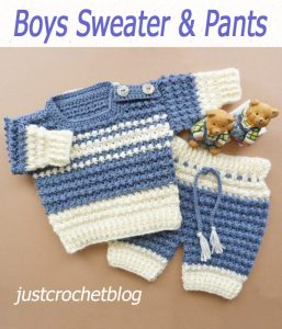 Boys Sweater & Pants