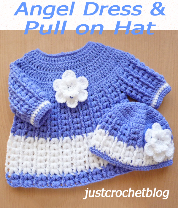 angel dress-pull on hat