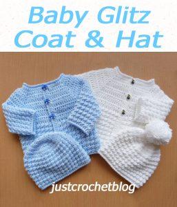 Baby Glitz Coat & Hat