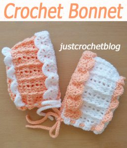 Pretty Crochet Bonnet