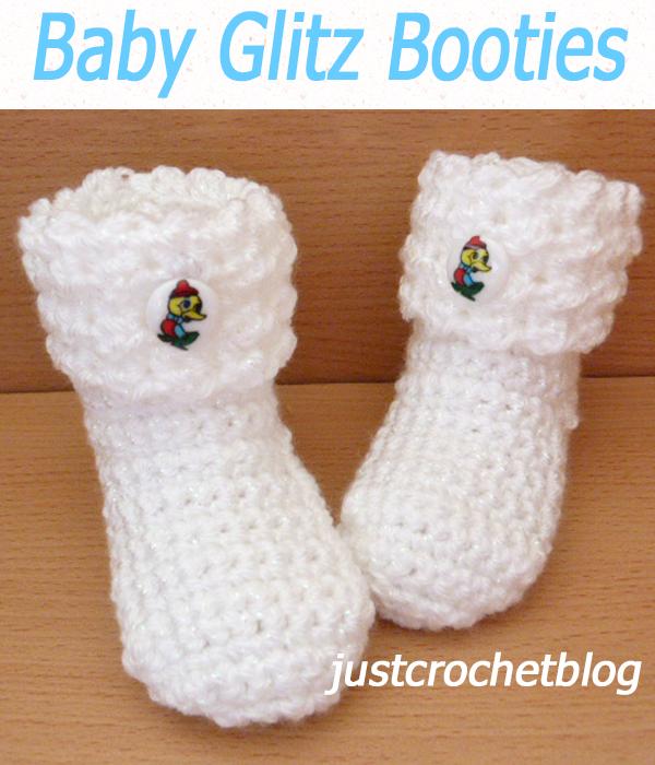 Baby Glitz Booties