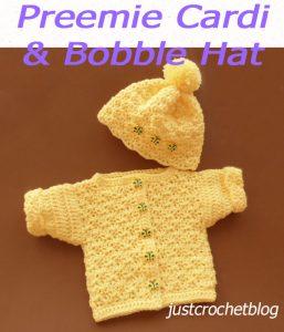 Cardi & Bobble Hat