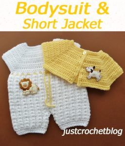 Bodysuit & Short Jacket